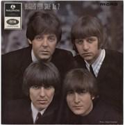 "The Beatles Beatles For Sale No. 2 EP - 1st - KT - WOL UK 7"" vinyl"