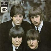 "The Beatles Beatles For Sale (No 2) EP - EMI Text UK 7"" vinyl"