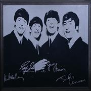 Click here for more info about 'The Beatles - Beatles Mirror With Facsimile Autographs'