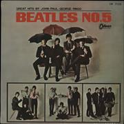 Click here for more info about 'Beatles No. 5 - 1st - Red Vinyl'