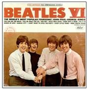 The Beatles Beatles VI - Mfd By Apple - RIAA USA vinyl LP