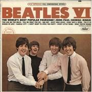 The Beatles Beatles VI - Mfd By Apple - RIAA - VG USA vinyl LP