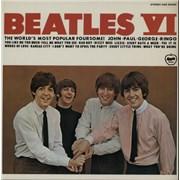 The Beatles Beatles VI Japan vinyl LP