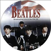 The Beatles Broadcasting Live in the USA '64 UK picture disc LP