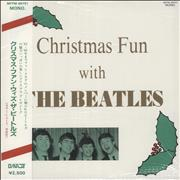 Click here for more info about 'The Beatles - Christmas Fun With The Beatles - White Vinyl + Obi'