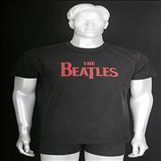 Click here for more info about 'The Beatles - Classic Logo: Black [XL]'