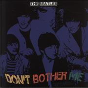 The Beatles Don't Bother Me - Numbered Yellow Vinyl UK vinyl LP