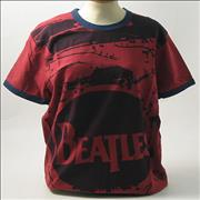 Click here for more info about 'The Beatles - Drumskin Ruby T-Shirt - Small'