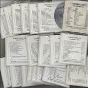 The Beatles EuroXclusive - 28 Disc's USA CD album Promo