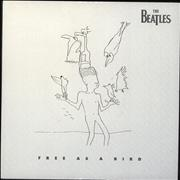 "The Beatles Free As A Bird UK 7"" vinyl"
