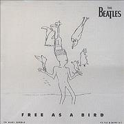 The Beatles Free As A Bird USA CD single