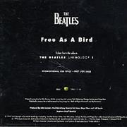 The Beatles Free As A Bird USA CD single Promo