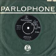 """The Beatles From Me To You - 2nd - VG UK 7"""" vinyl"""