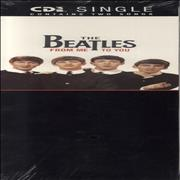 "The Beatles From Me To You - Sealed USA 3"" CD single"