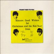 The Beatles From Then To You - VG+/EX- UK vinyl LP