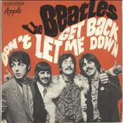 Click here for more info about 'The Beatles - Get Back - 1973 Issue'