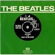 "The Beatles Get Back - 1976 Issue UK 7"" vinyl"