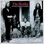 """The Beatles Get Back - 20th Anniversary Issue UK 7"""" vinyl"""
