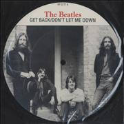 Click here for more info about 'The Beatles - Get Back + Insert'
