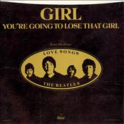 Click here for more info about 'The Beatles - Girl - Withdrawn Single Sleeve'