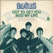 """The Beatles Got To Get You Into My Life + Sleeve - EX USA 7"""" vinyl"""
