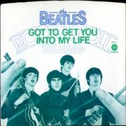 """The Beatles Got To Get You Into My Life + Sleeve USA 7"""" vinyl"""