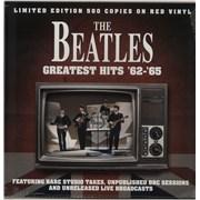 The Beatles Greatest Hits '62-'65 - Red Vinyl UK vinyl LP