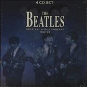 The Beatles Greatest Hits In Concert 1962-'65 UK 4-CD set
