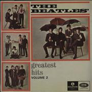 The Beatles Greatest Hits Volume 2 Australia vinyl LP