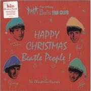 "The Beatles Happy Christmas Beatle People! (The Christmas Records) UK 7"" box set"
