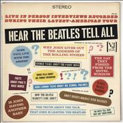 The Beatles Hear The Beatles Tell All - VG USA vinyl LP