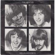 "The Beatles Hello, Goodbye - 20th UK 7"" vinyl"