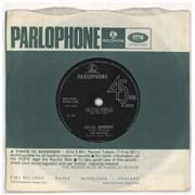 """The Beatles Hello, Goodbye - Pathé - VG UK 7"""" vinyl"""