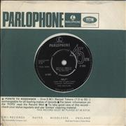 "The Beatles Help! - 1st - EX UK 7"" vinyl"