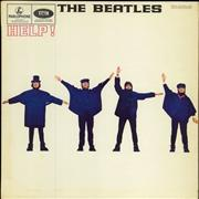 The Beatles Help! - 1st - NO tax Code - EX UK vinyl LP