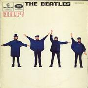 Click here for more info about 'The Beatles - Help! - 1st - NO tax Code - VG'