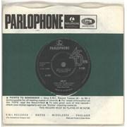 """The Beatles Help! - 1st - VG UK 7"""" vinyl"""