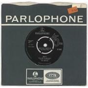"The Beatles Help! - 2nd - Decca - VG UK 7"" vinyl"