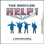 The Beatles Help! - 7 Song Radio Sampler - Sealed USA CD album Promo