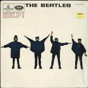 The Beatles Help! - 80s UK vinyl LP