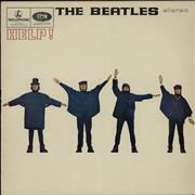 The Beatles Help! - EMI - Fr Lam - EX UK vinyl LP