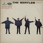 The Beatles Help! - EMI - Glossy UK vinyl LP