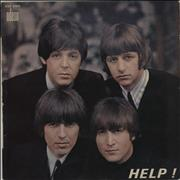 Click here for more info about 'The Beatles - Help! - Orange Label - EX/VG'