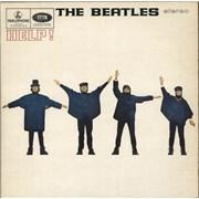 The Beatles Help! - Pathé - Sample UK vinyl LP