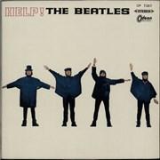 The Beatles Help! - Red Vinyl + Portrait Insert Japan vinyl LP