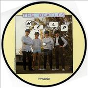 "The Beatles Help UK 7"" picture disc"