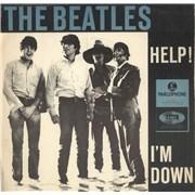 "The Beatles Help! Denmark 7"" vinyl"