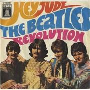 "The Beatles Hey Jude - VG Germany 7"" vinyl"