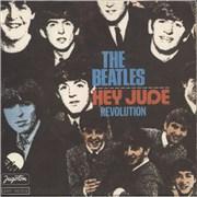 "The Beatles Hey Jude Yugoslavia 7"" vinyl"