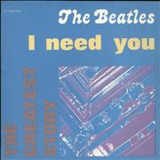 Click here for more info about 'The Beatles - I Need You'